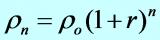 روش تصاعدی محاسبه رشد جمعیت